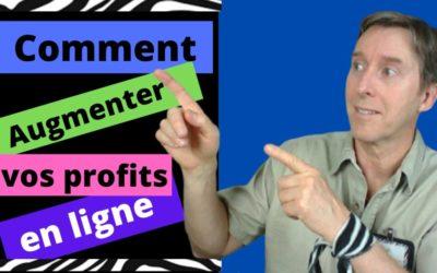 Comment augmenter vos profits en ligne