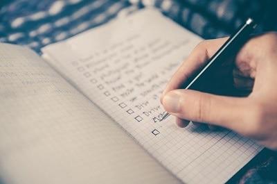 listes détaillées dans votre document