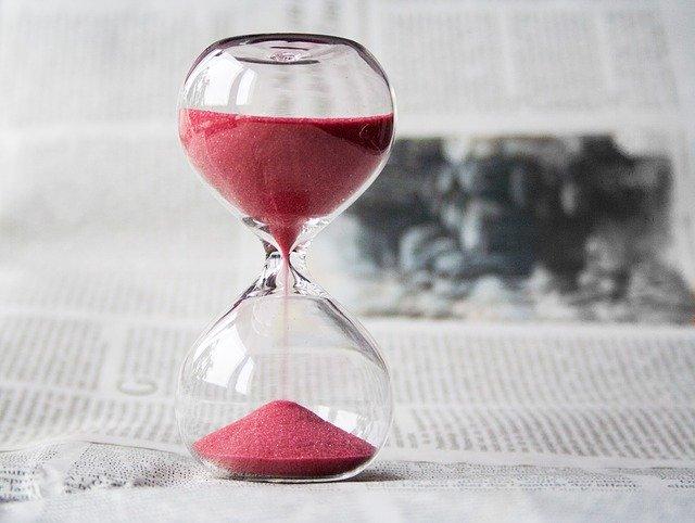 sablier et productivité